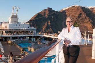 Susanne Hazenberg, General Managerin auf der Mein Schiff Flotte