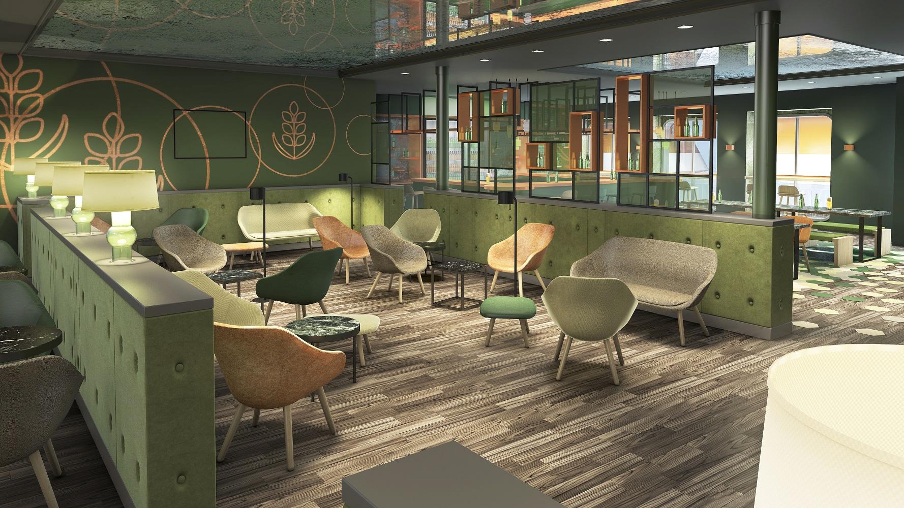 Die Ebbe & Flut Bier Bar auf der neuen Mein Schiff 1