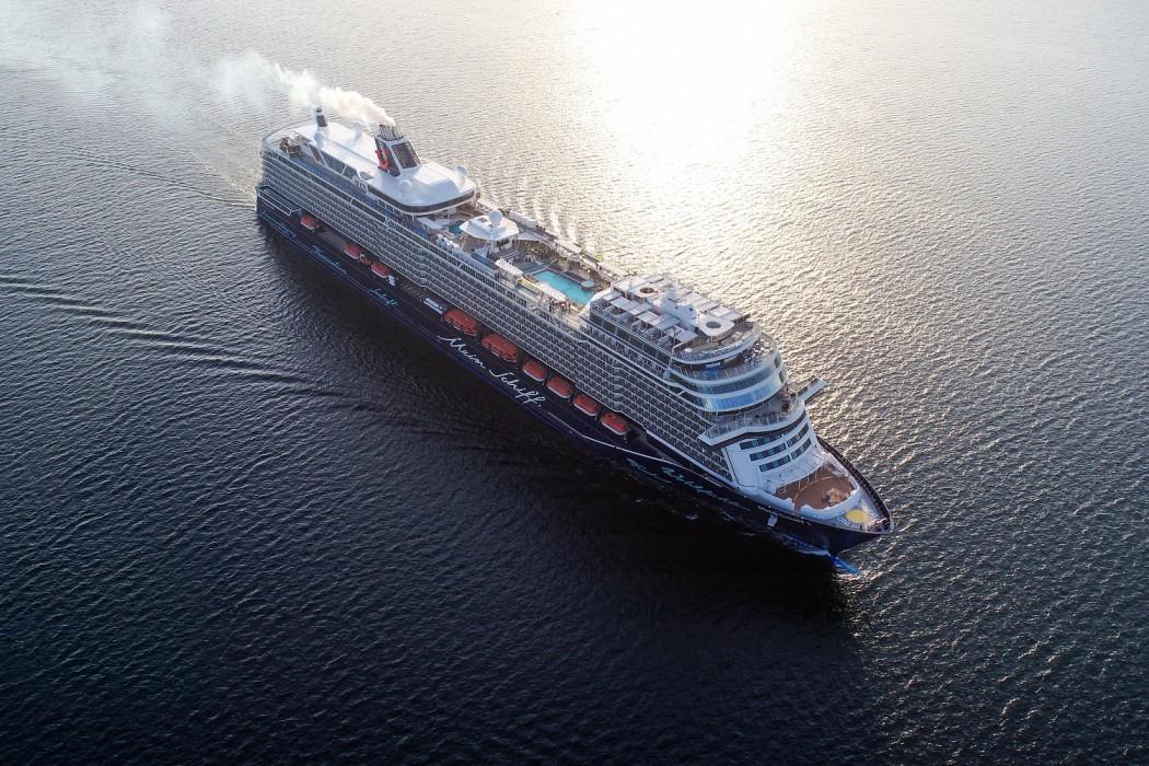 Die neue Mein Schiff 1 von TUI Cruises