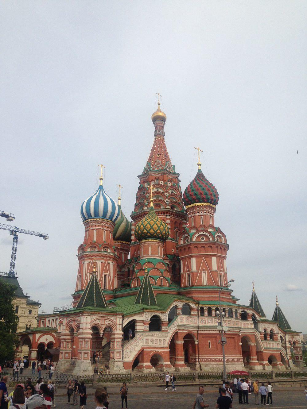 Highlight auf dem Mein Schiff Landausflug: Die Basilius-Kathedrale