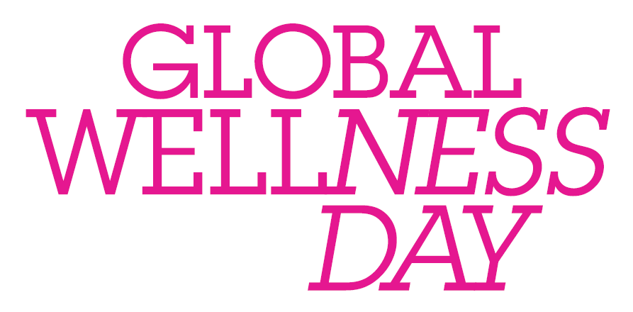 Das Logo vom Global Wellness Day