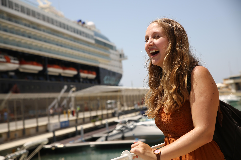 Mein Schiff Debüt: Die erste Kreuzfahrt für reisereporterIn Carina Doliwa
