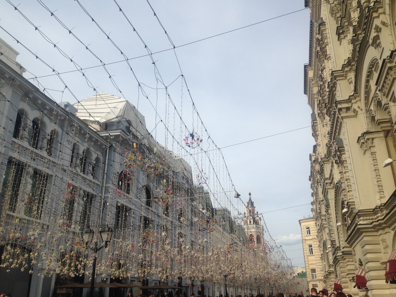 Gute Shopping Adresse in Moskau: Die Nikolakaya Straße