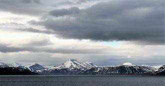 Blick auf Mein Schiff Destination Spitzbergen