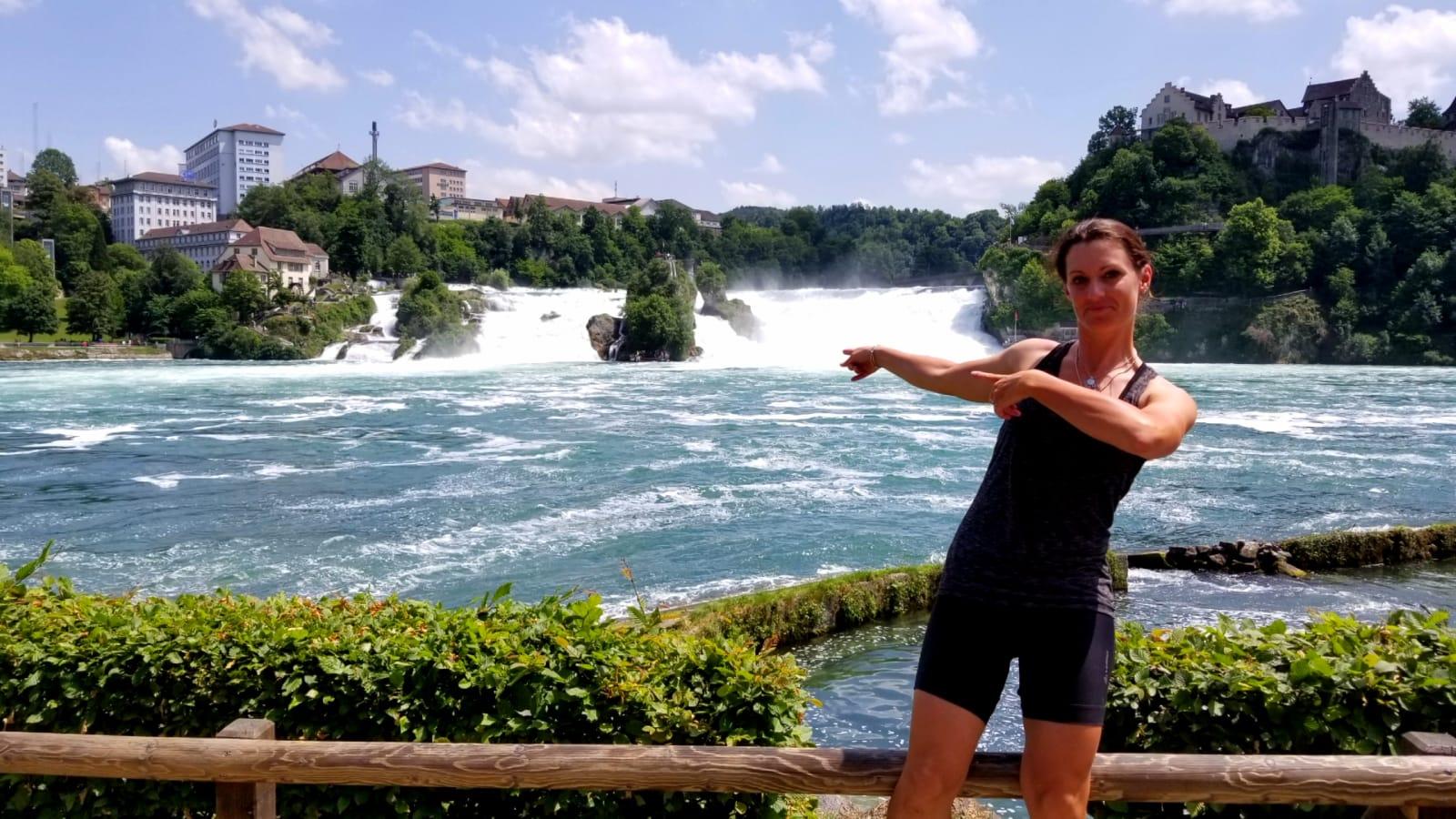 Das deutsche Pendant zu den Niagara Fällen - die Rheinfälle