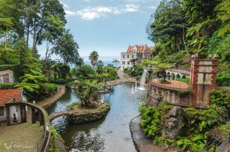 Mein Schiff Destination: Monte Palace Tropican Garden in Funchal auf Madeira