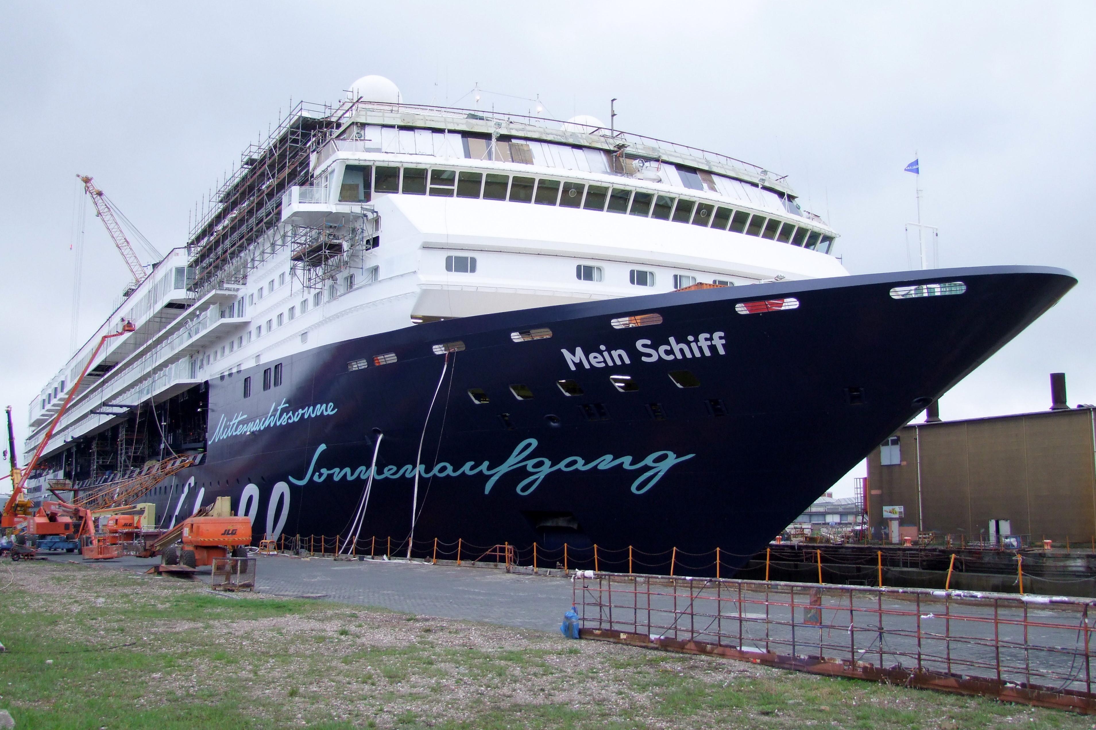 Nach dem Umbau: Jetzt als Mein Schiff 1