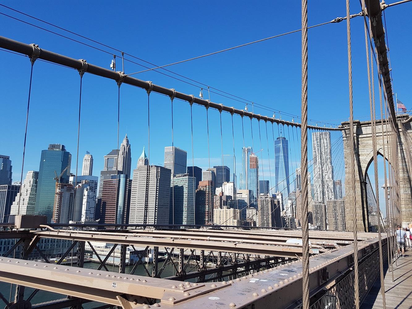 Ein Muss in New York: Der Spaziergang über die Brooklyn Bridge