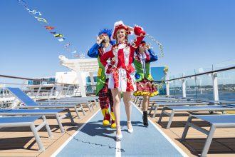 Jetzt wird es närrisch bei TUI Cruises: Der Jeckliner kommt