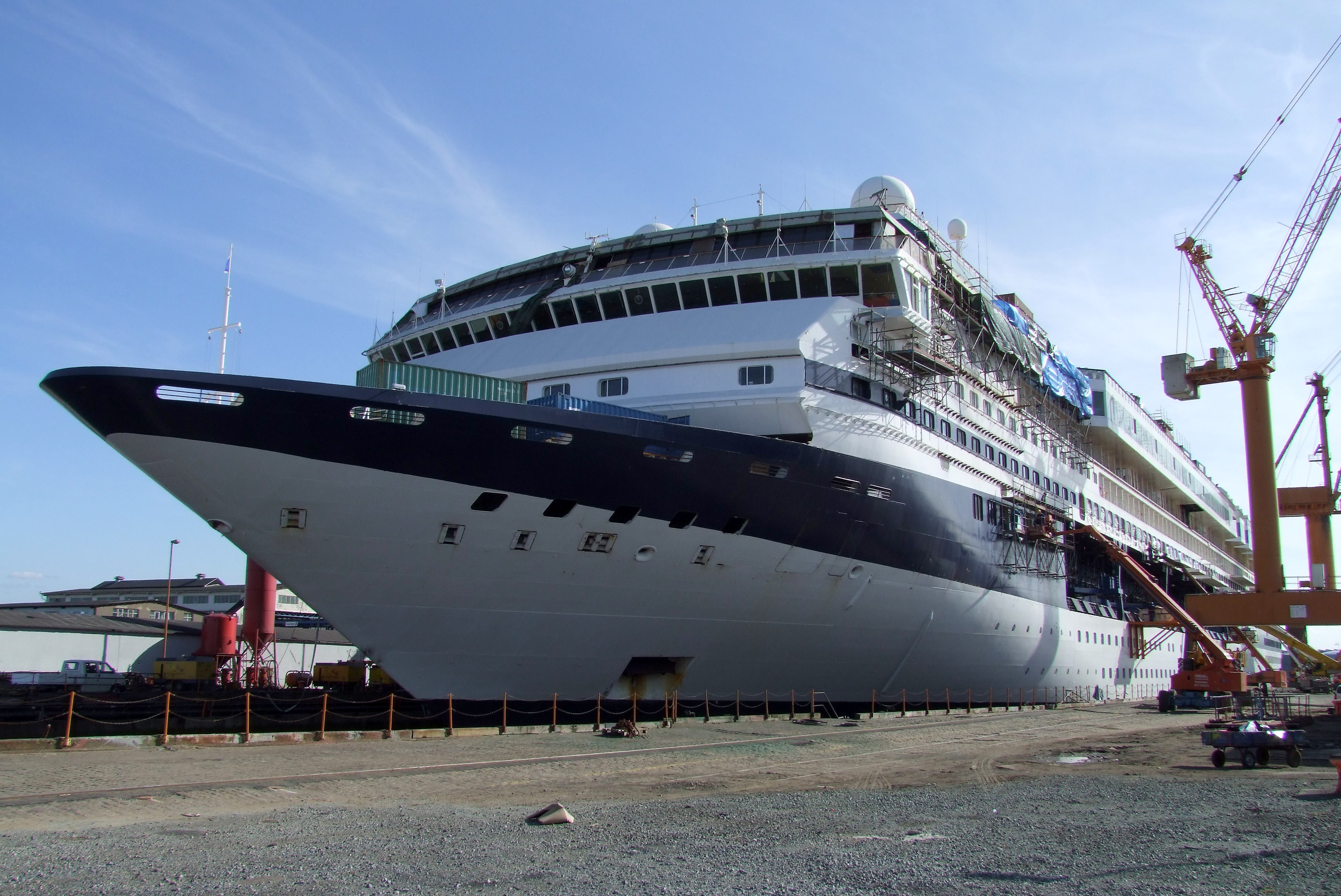 Mein Schiff 1 vor dem Umbau noch als Celebrity Galaxy