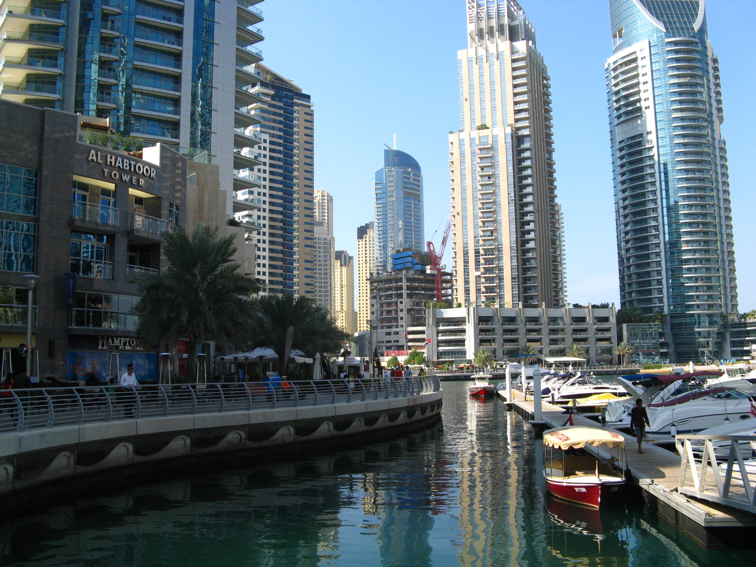 Mein Schiff Ausflugsziel in Dubai: Die Marina
