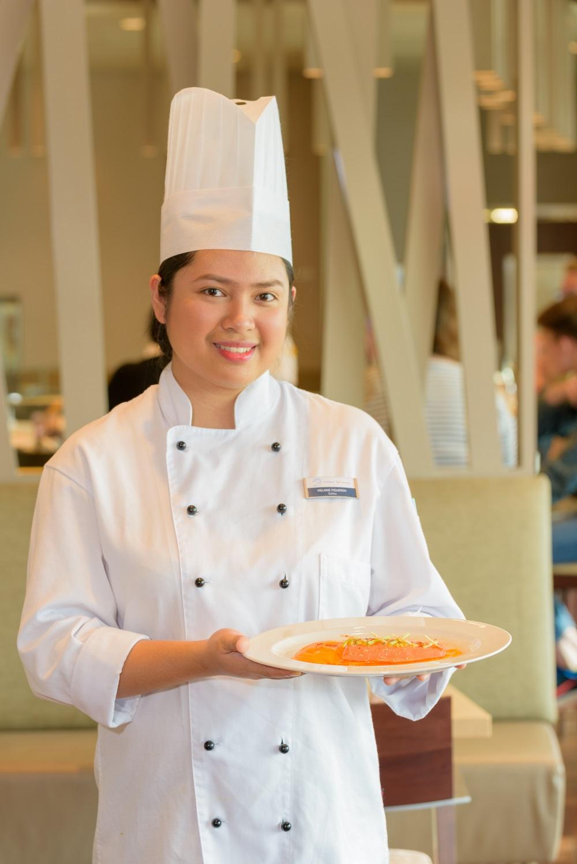 Melanie Figueroa: 2nd Cook im Restaurant Hanami By Tim Raue auf der Mein Schiff Flotte