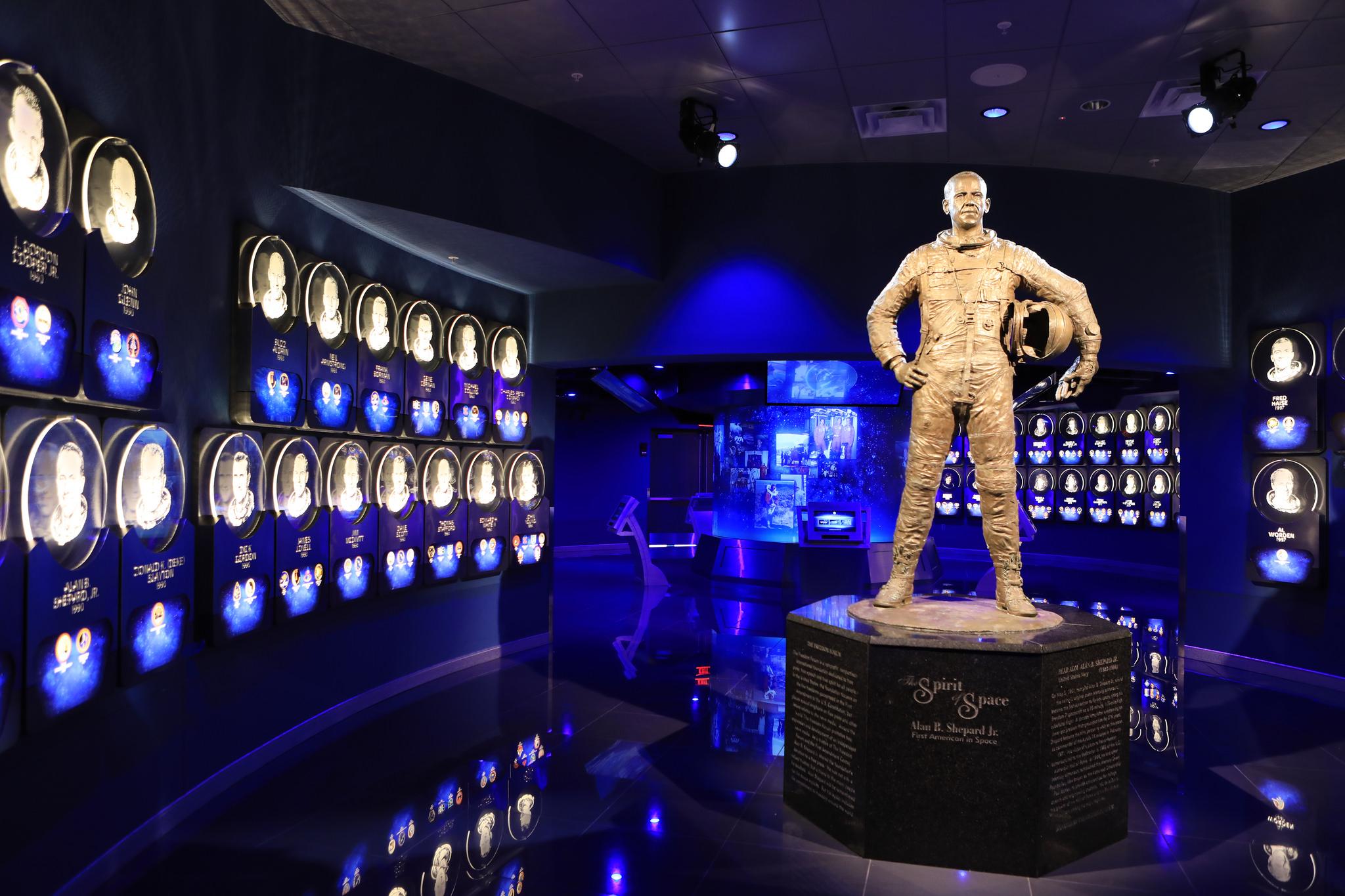 Mein Schiff Sehenswürdigkeit: Astronaut Hall of Fame im Kennedy Space Center