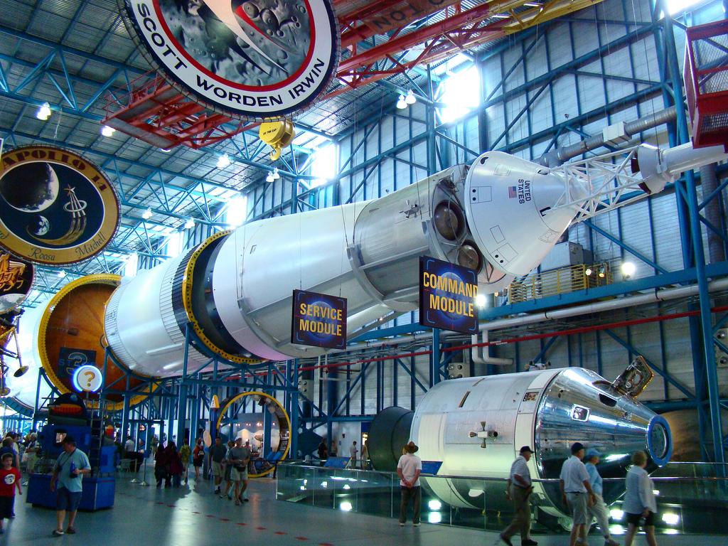 Mein Schiff Sehenswürdigkeit: Die Saturn V im Kennedy Space Center