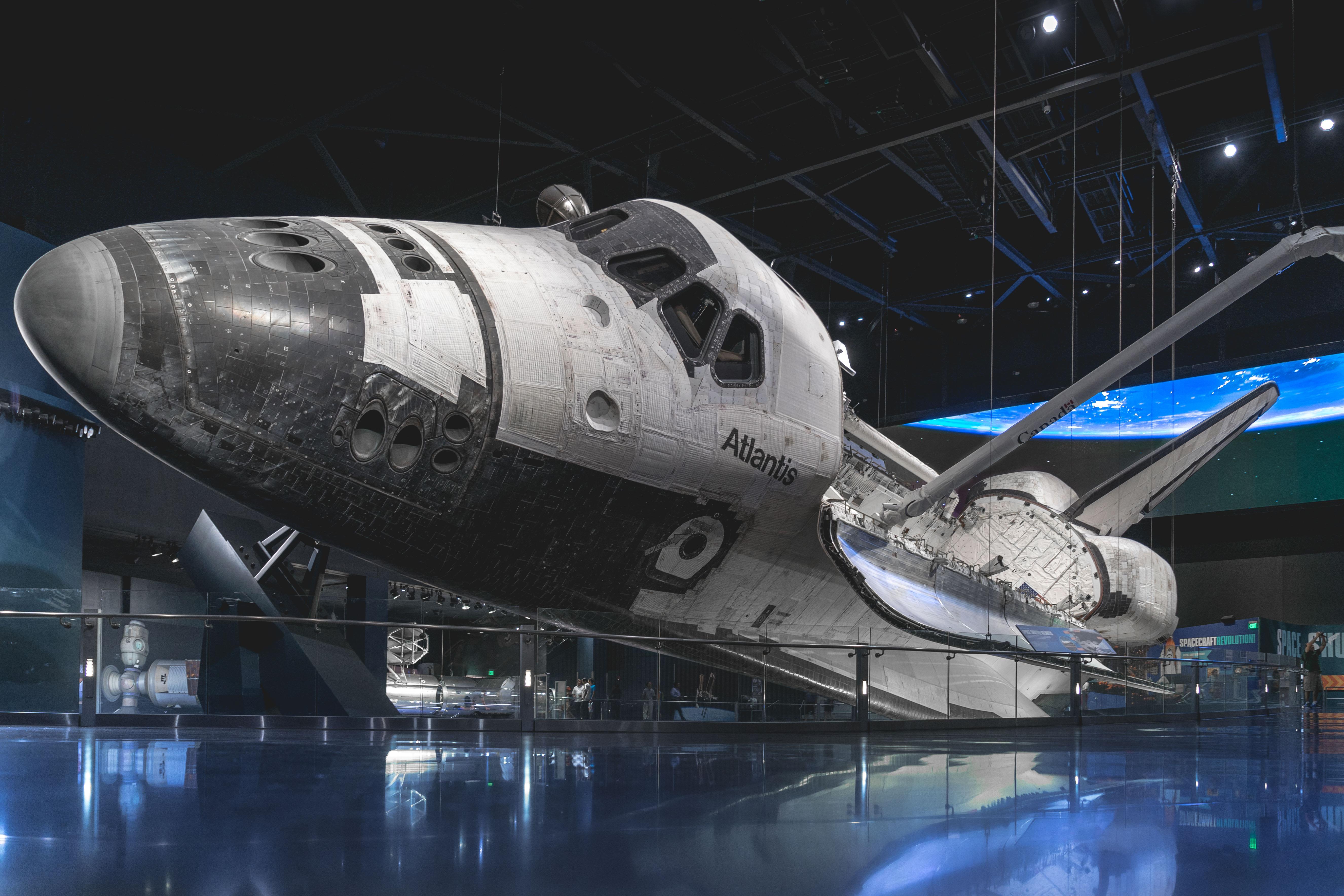 Mein Schiff Sehenswürdigkeit: Das Space Shuttle Atlantis im Kennedy Space Center