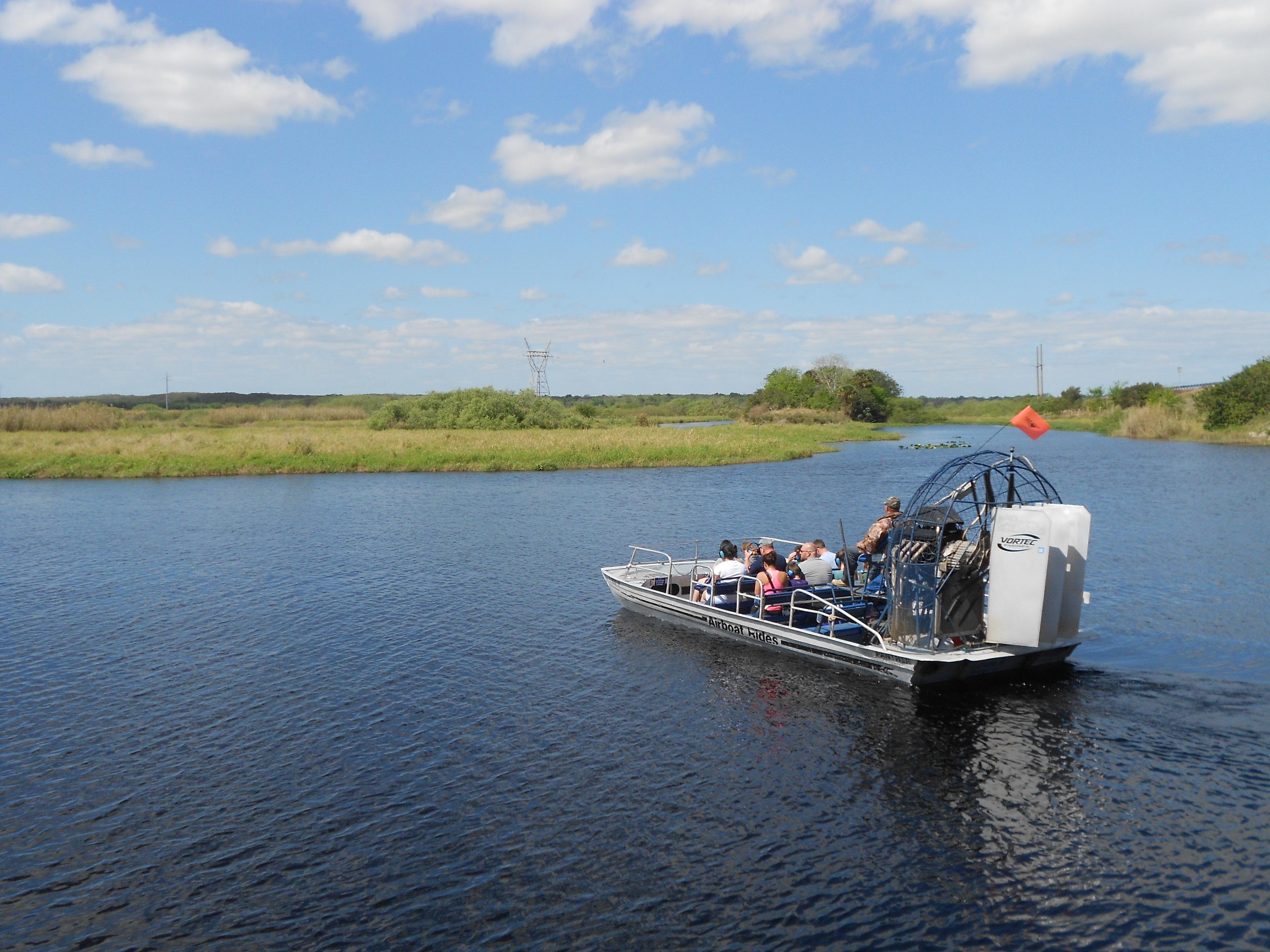 Mein Schiff Ausflug: Per Propellerbootsfahrt durch die Everglades