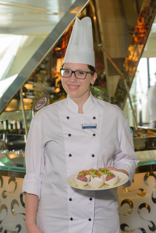 Vanessa Wittstock: Commis de Cuisine (Jungkoch)
