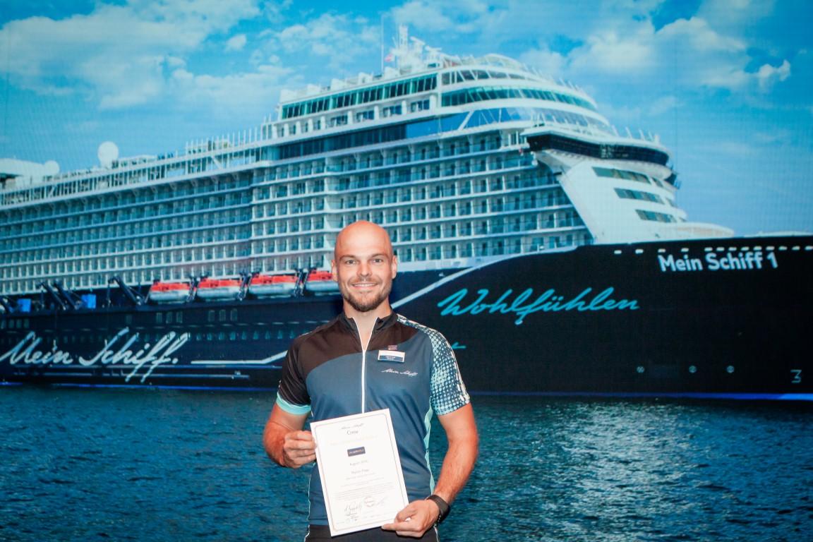 Mein Schiff Urlaubsheld im August 2018 ist Martin Paap