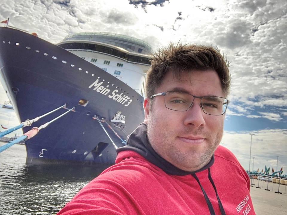 Mein Schiff Gastautor Jens Krömer
