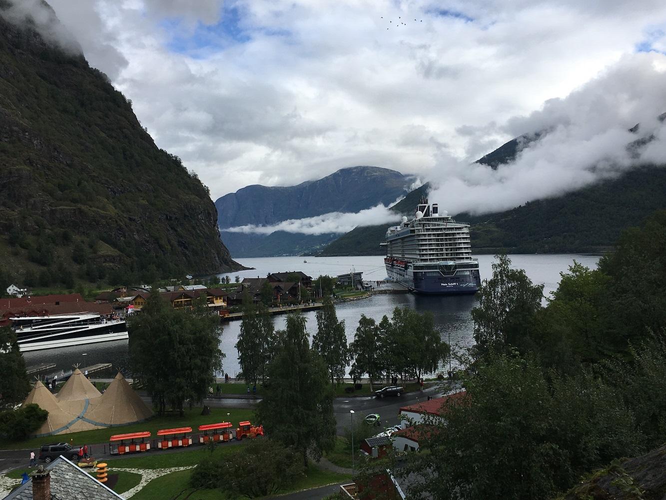 Die Mein Schiff 1 in Norwegen