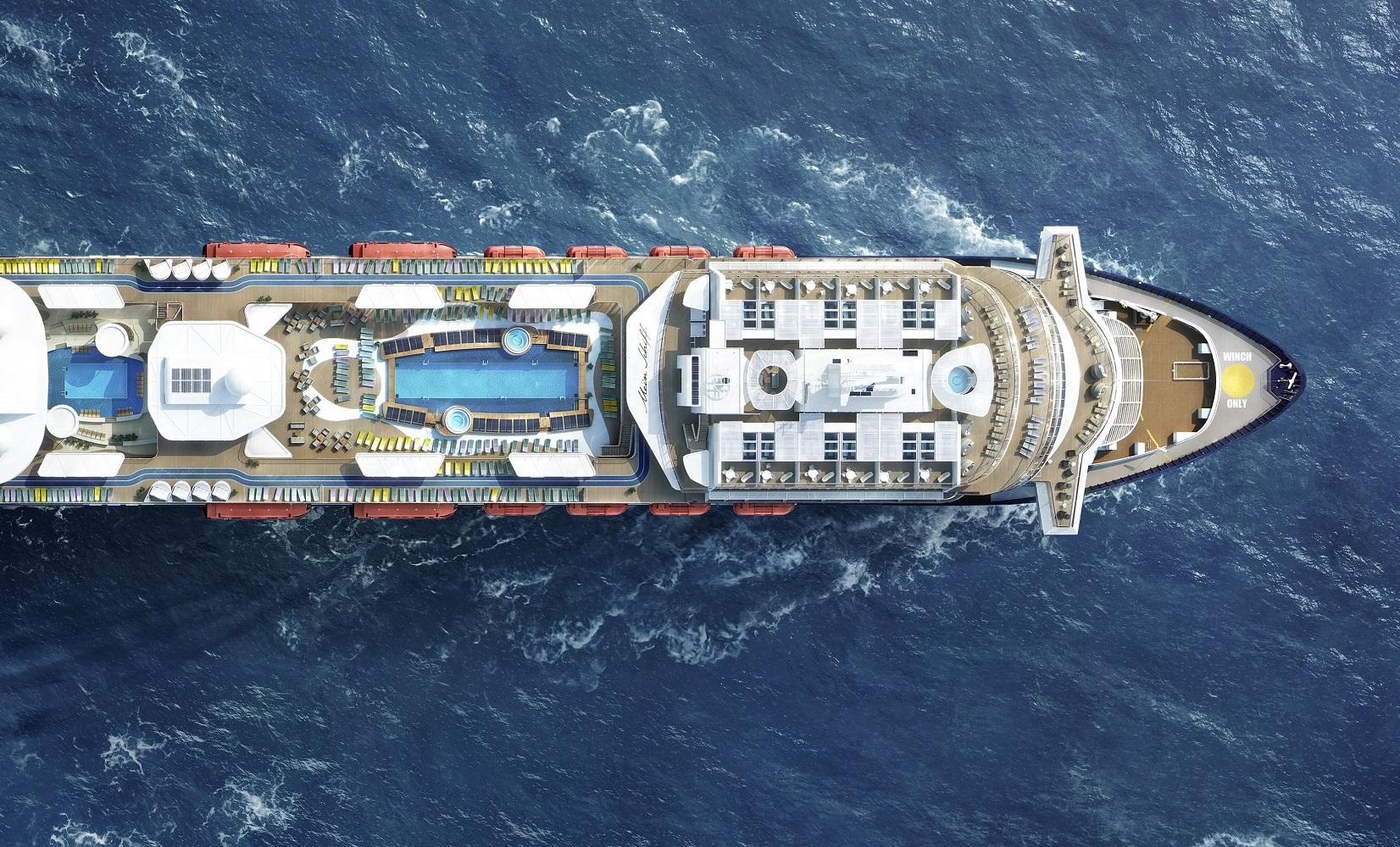 Die neue Mein Schiff 2 von TUI Cruises