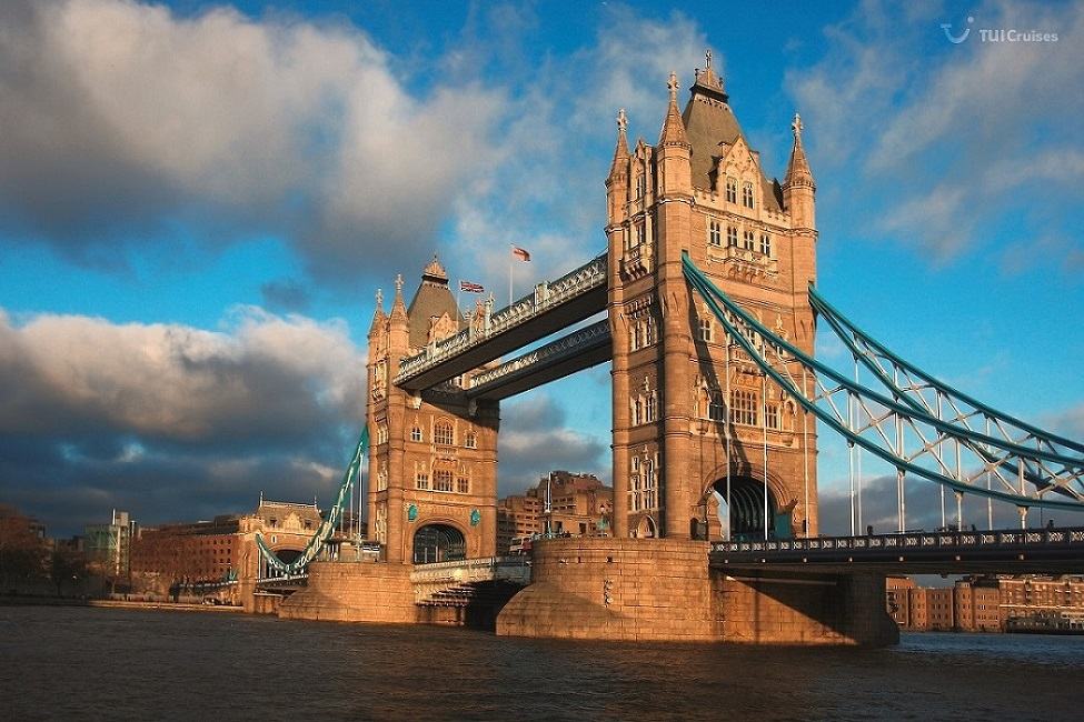 Mein Schiff Ausflugsziel: Die Tower Bridge in London