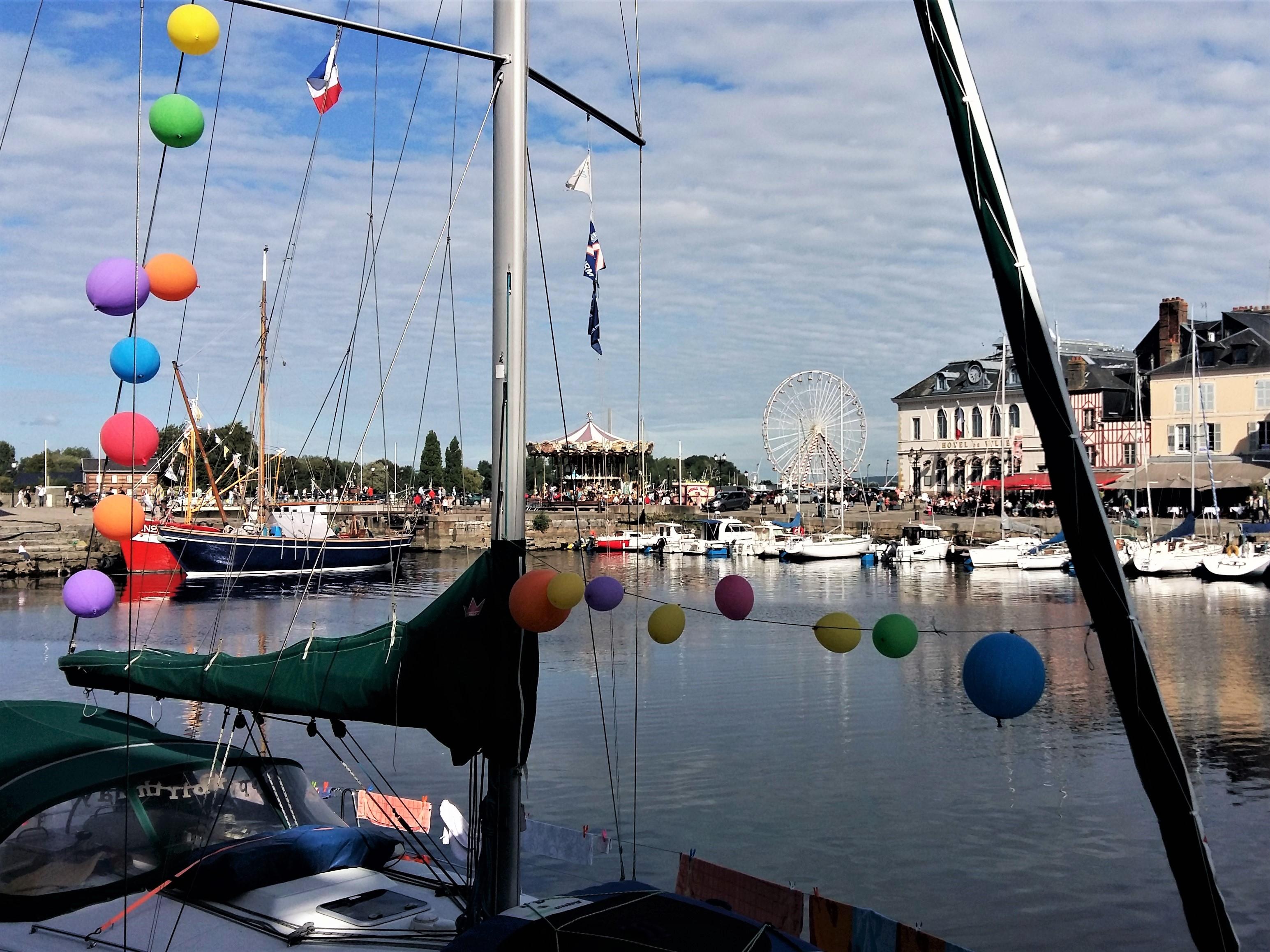 Mein Schiff Ausflugsziel: Der traumhafte Hafen in in Honfleur