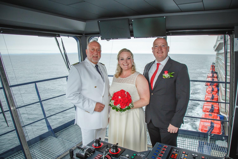 Mein Schiff Hochzeitspaar: Daniela und Terry Meincke