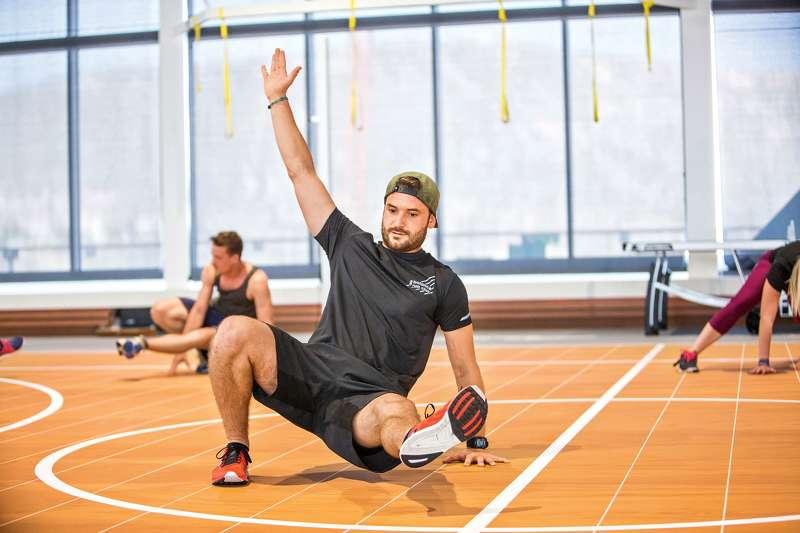 Fitness Blogger Jan Körber bei der Fit for fun Kreuzfahrt auf der Mein Schiff 1 (Foto von Christina Körte für Fit for fun)