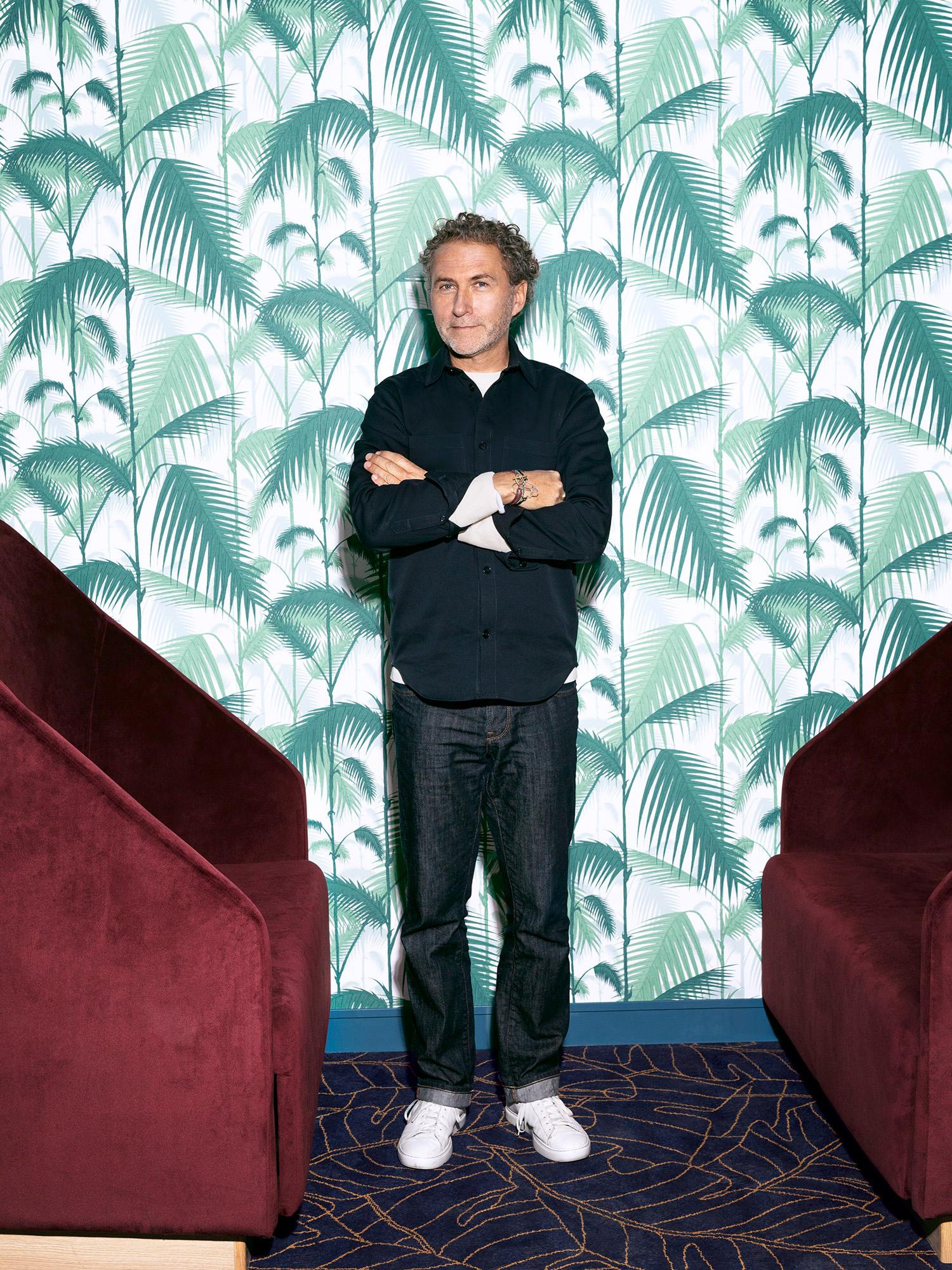Star Designer Werner Aisslinger auf der Mein Schiff 2