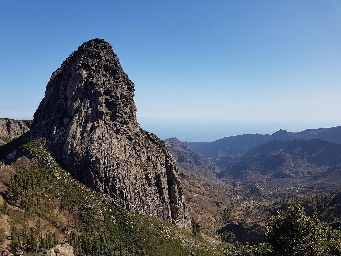 Mein Schiff Ausflugsziel: Vulkanzunge Roque de Agando auf La Gomera
