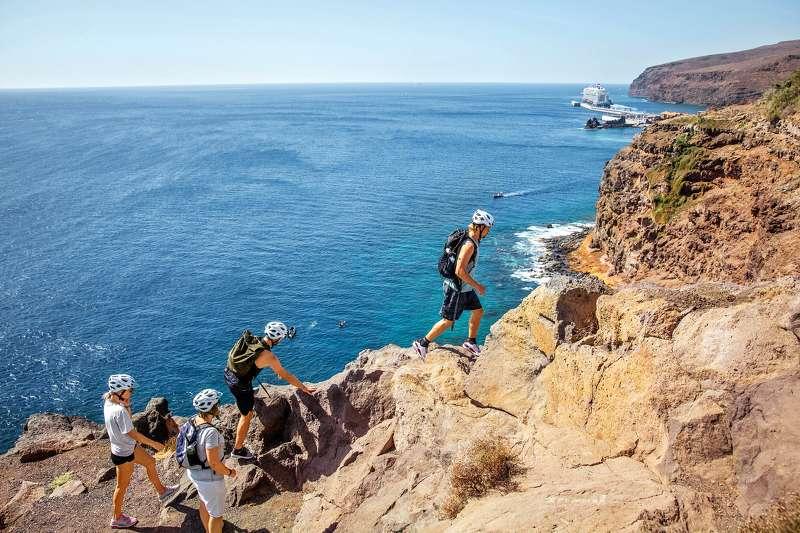 Wandern auf Lanzarote bei der Fit for fun auf der Mein Schiff 1 (Foto von Christina Körte für Fit for fun)