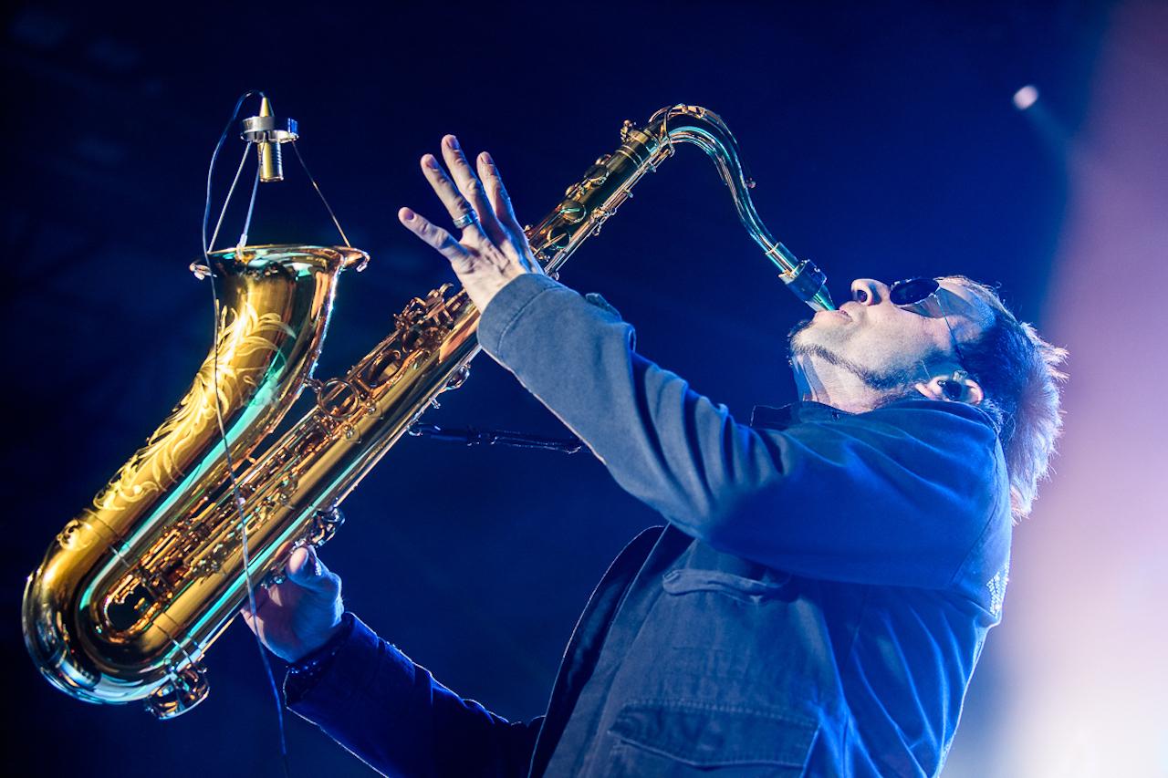 Mein Schiff Gastkünstker Noah Fischer ist einer der gefragtesten Saxophonisten Deutschland © Rüdiger Knuth