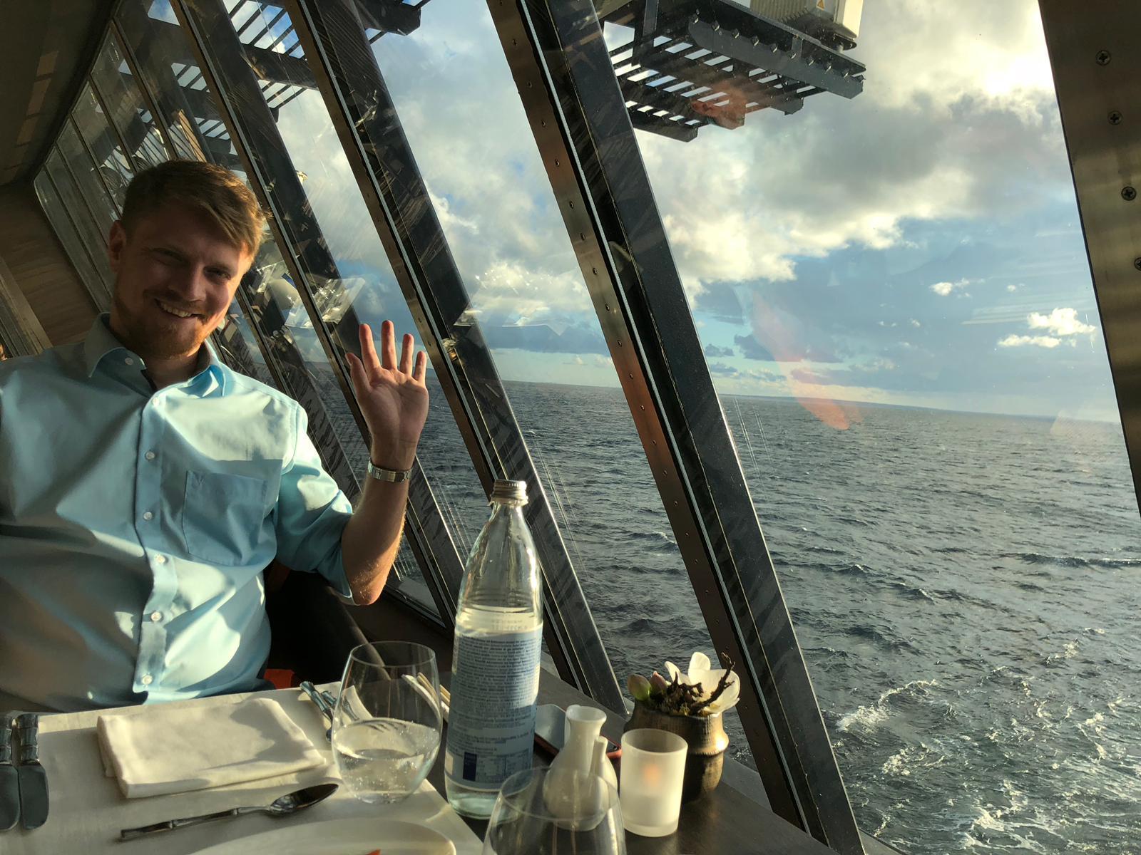 Das Essen an Bord der Mein Schiff 5 von TUI Cruises begeistert Gats Marco aus München