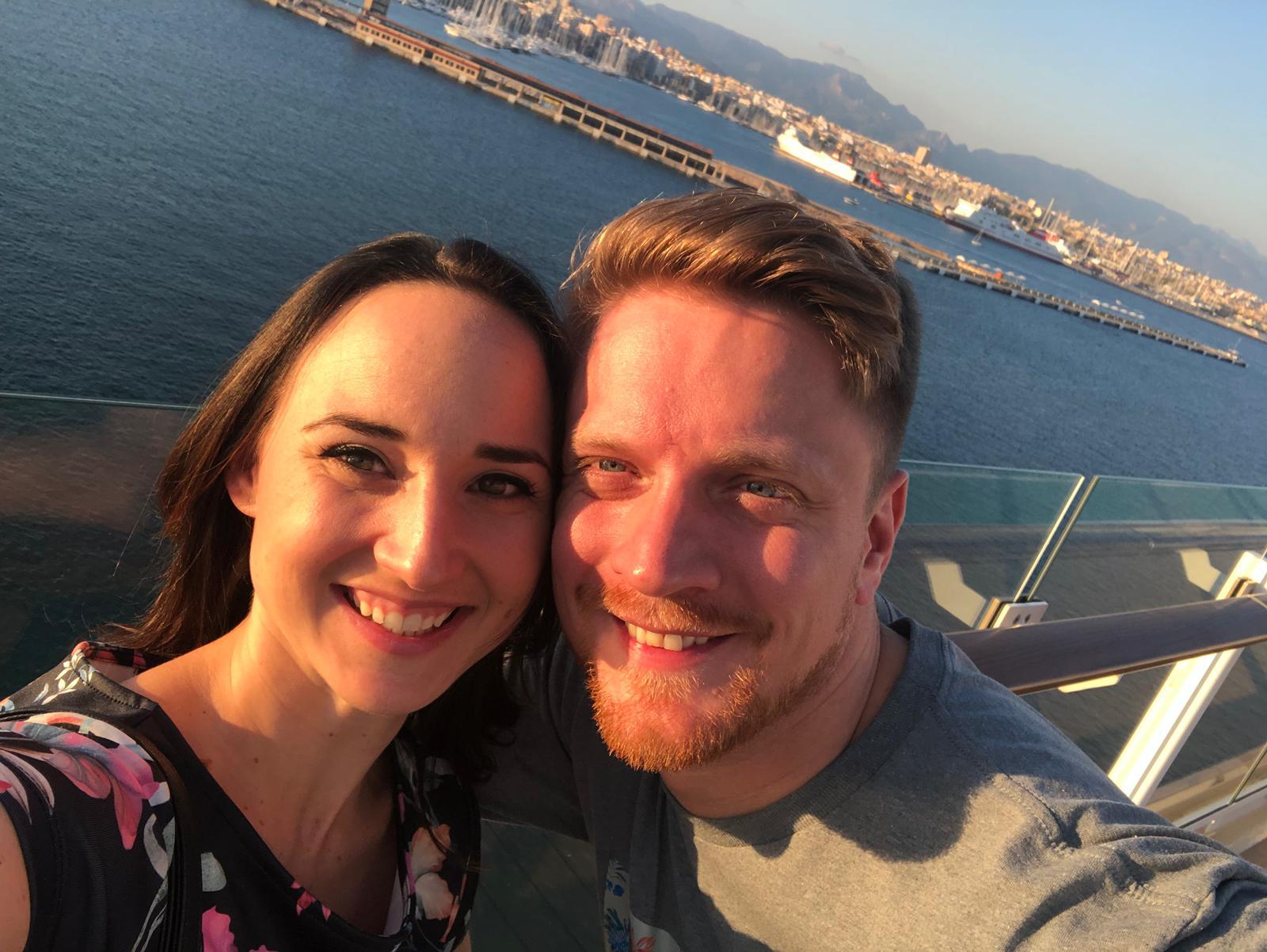 Mein Schiff Gäste Marco und Denise aus Erding/München