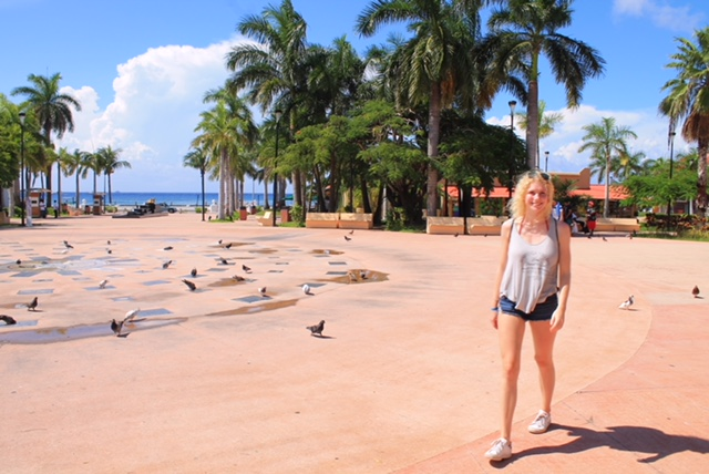Mein Schiff Blog Autorin Bea Neumann in Cozumel/Mexiko