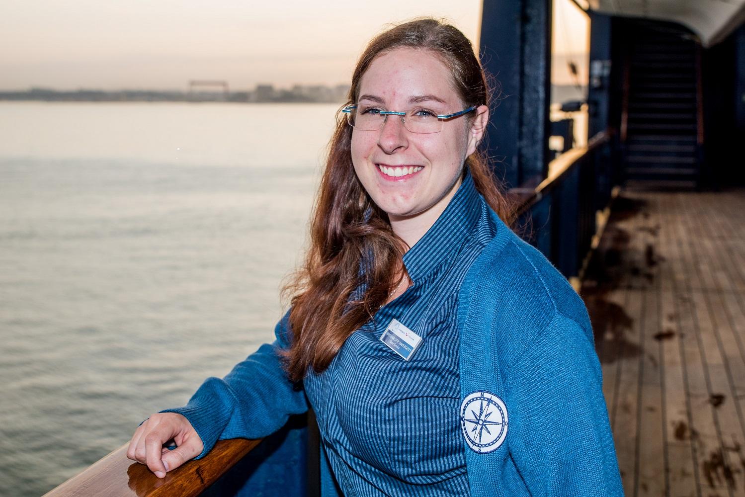 Mein Schiff Urlaubsheldin im Oktober 2018: Sofie Charlotte Dabergott
