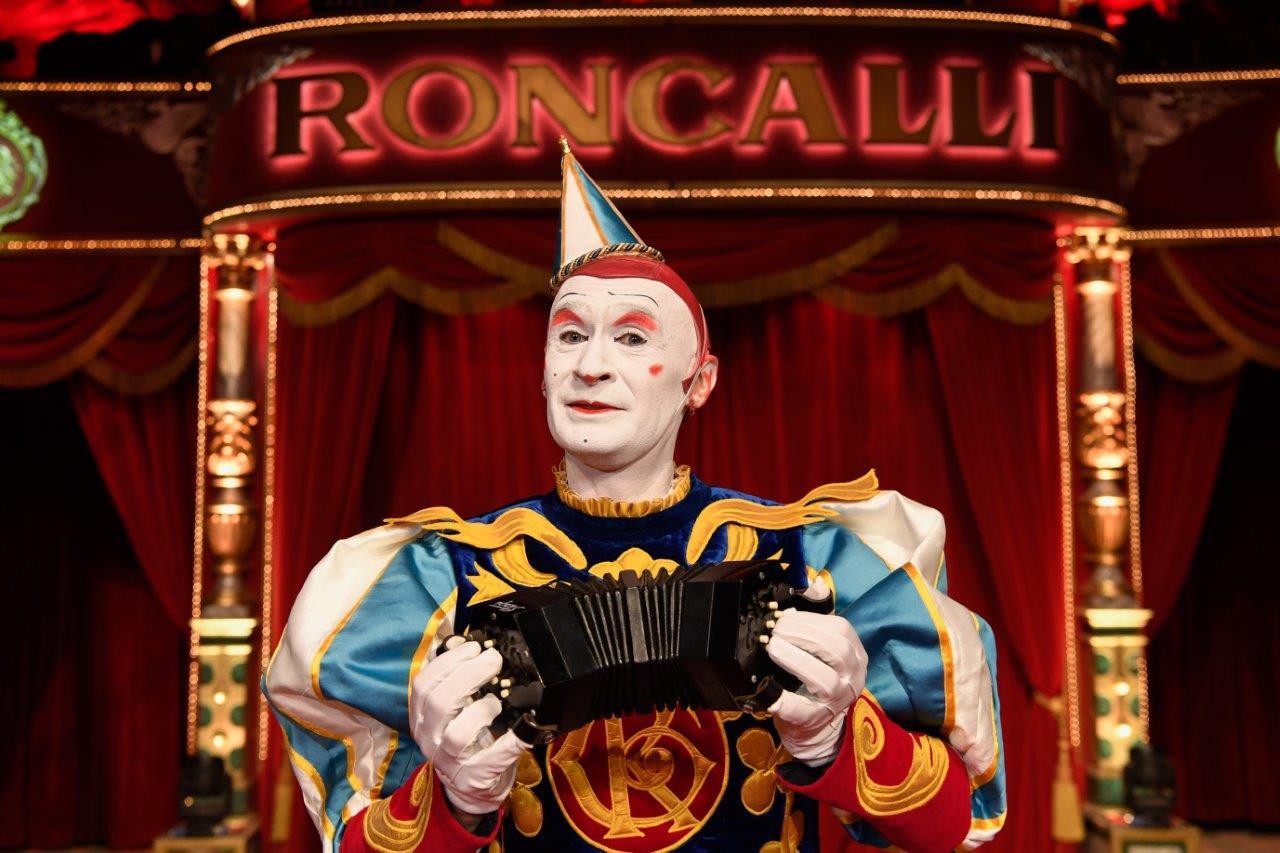"""Die Show """"Roncalli - nach einer wahren Geschichte"""" - kommt an Bord der Mein Schiff Flotte"""