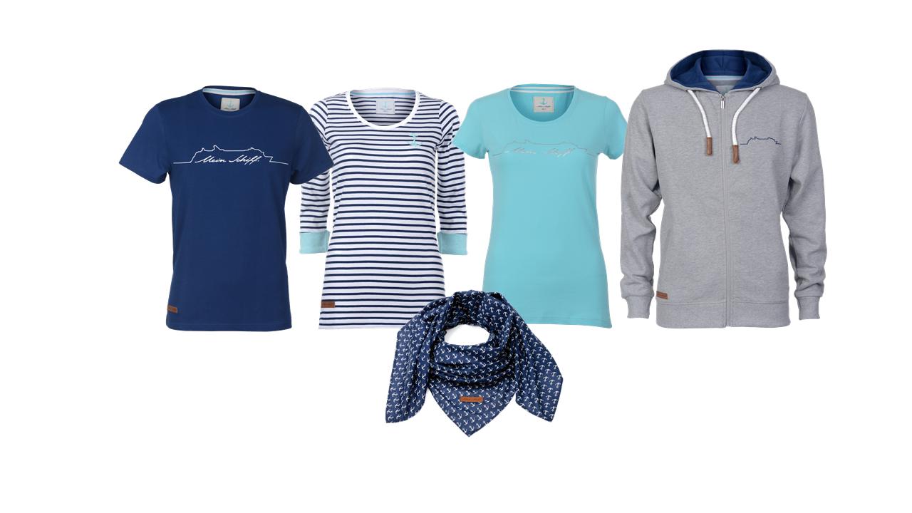 Die Mein Schiff Textilkollektion von TUI Crusies