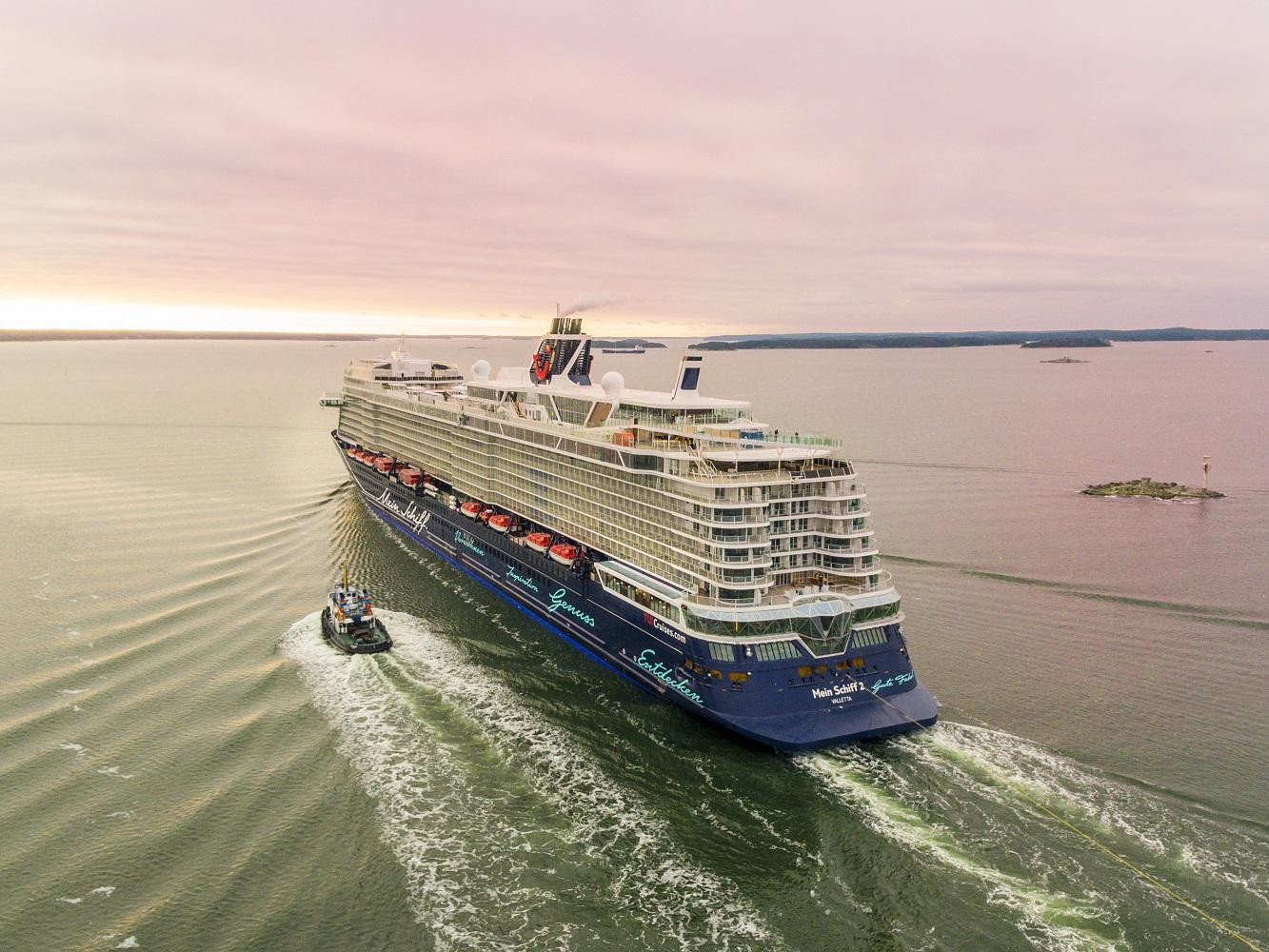 Jetzt mit der neuen Mein Schiff 2 auf Kreuzfahrt gehen