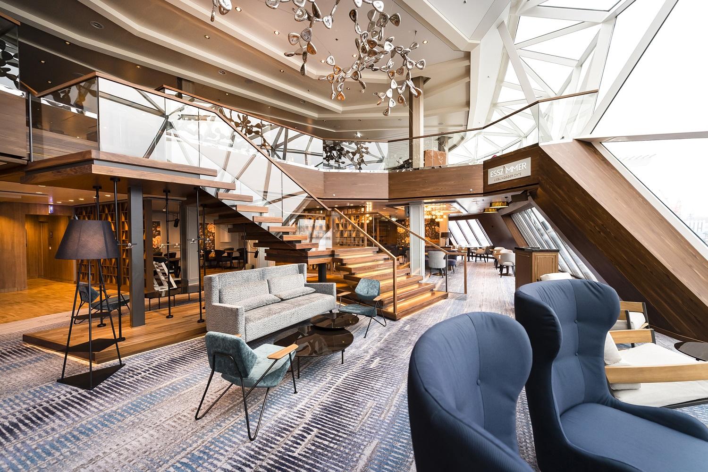 Das Esszimmer der neuen Mein Schiff 2 von TUI Cruises