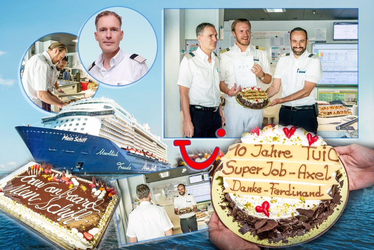 Mein Schiff General Manager Axel Sorger ist seit 10 Jahren Teil der TUI Cruises Familie