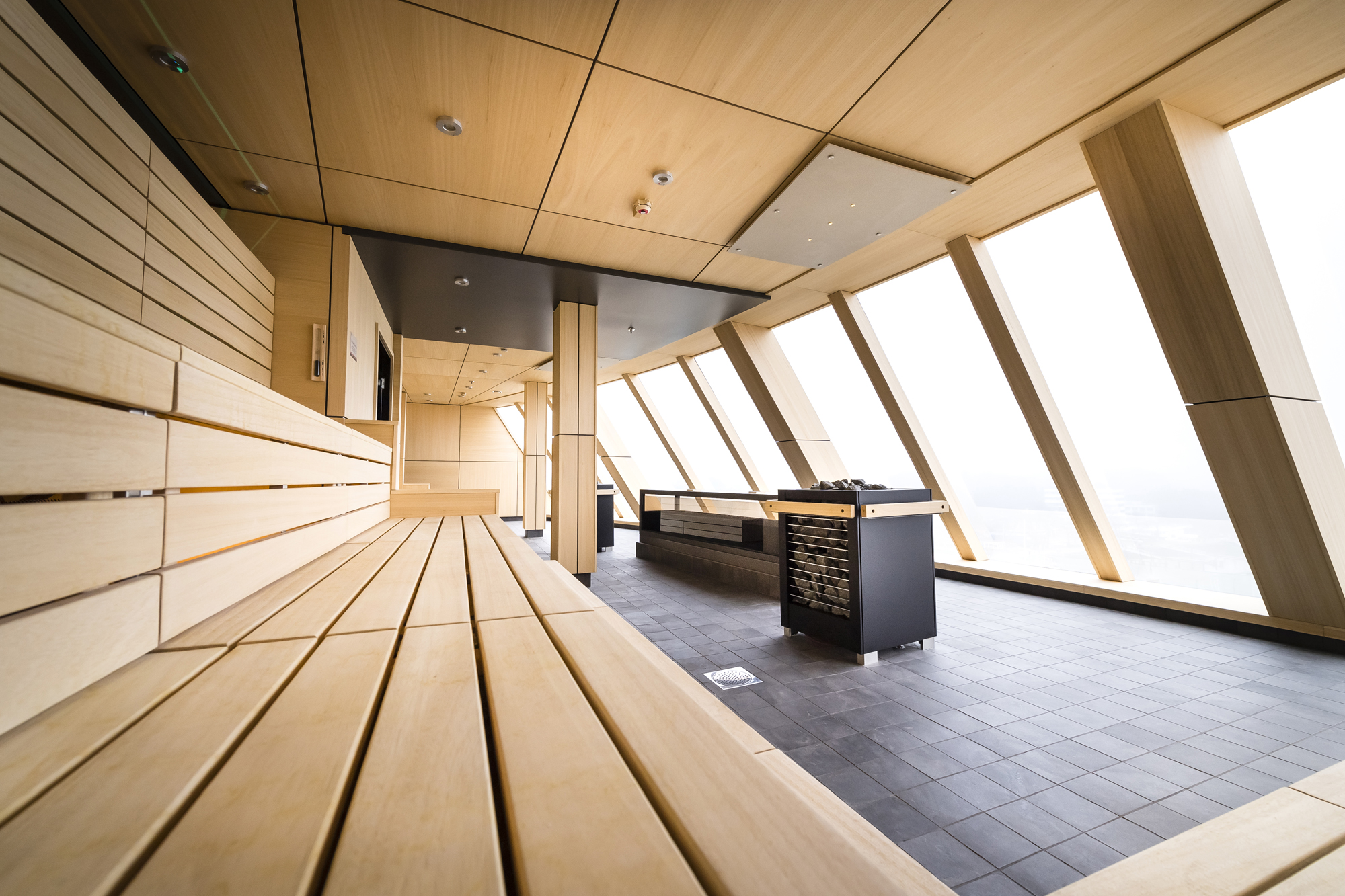 Saune mit Meerblick auf der neuen Mein Schiff 2 von TUI Cruises