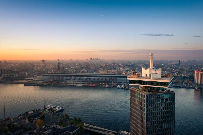 Mein Schiff Ausflug: DER Blick über Amsterdam beim Aussichtsturm A'dam Lookout