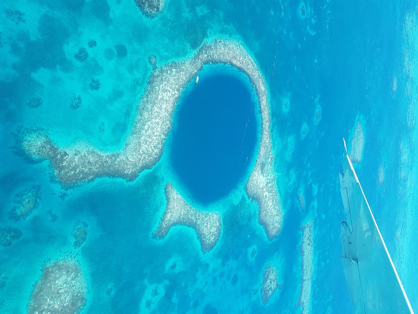 Mein Schiff Landausflug: Das Blue Hole in Belize