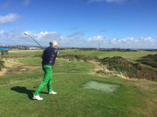 Mein Schiff Golfausflug: Windig in Wales unterwegs, Holyhead Golf Club, Holyhead
