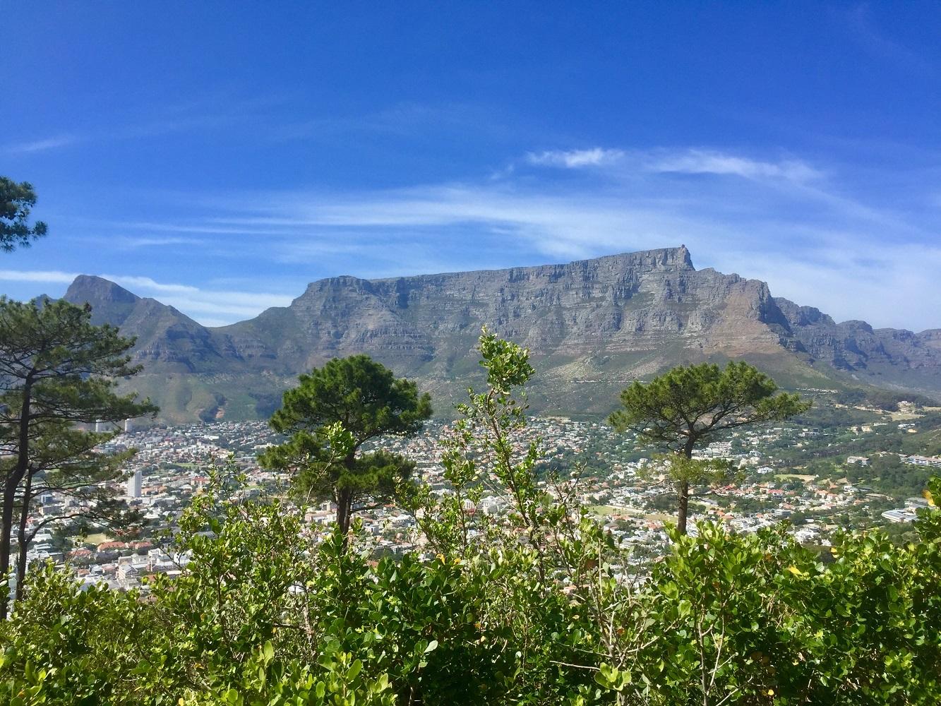 Mein Schiff Ausflug: Ausblick vom Singal Hill auf den Tafelberg
