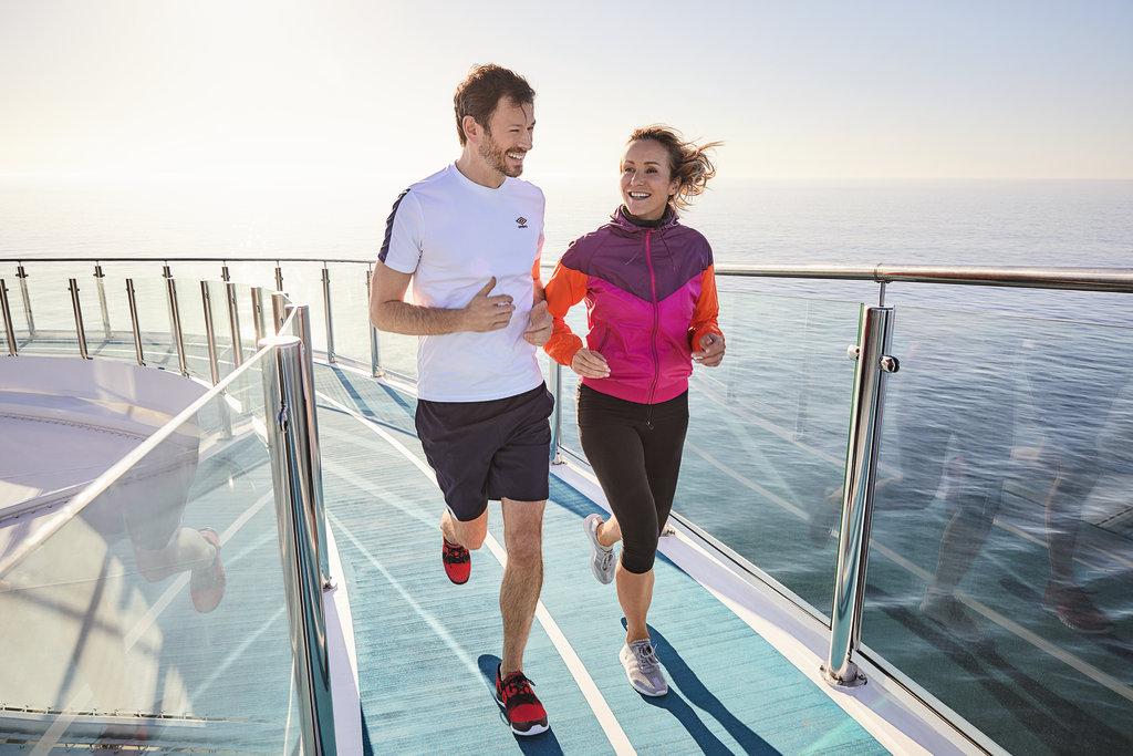 SPA und Sport Reisen an Bord der Mein Schiff Flotte 2019