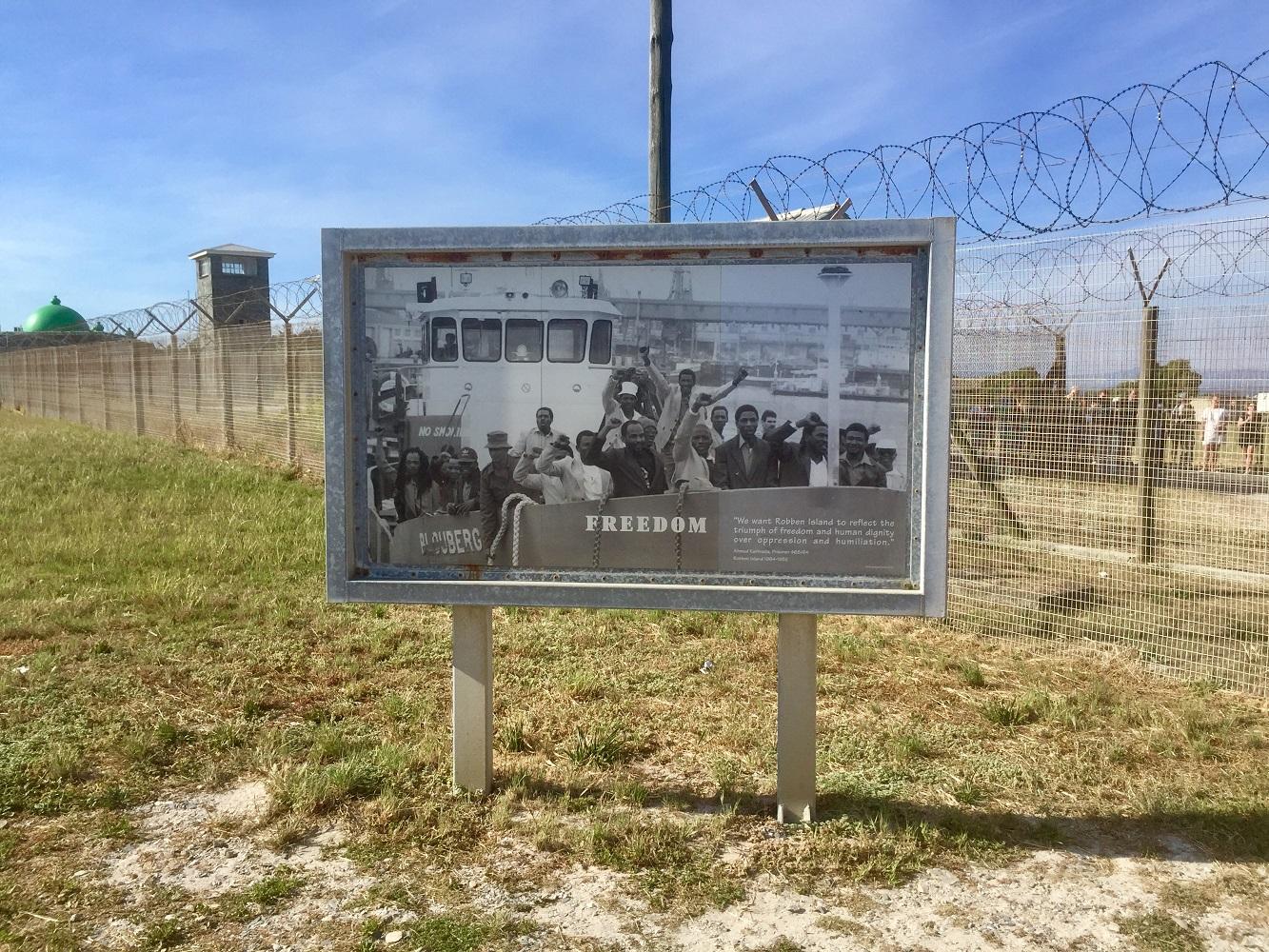 Geschichtsträchtiges Mein Schiff Ausflugsziel in Südafrika : Robben Island
