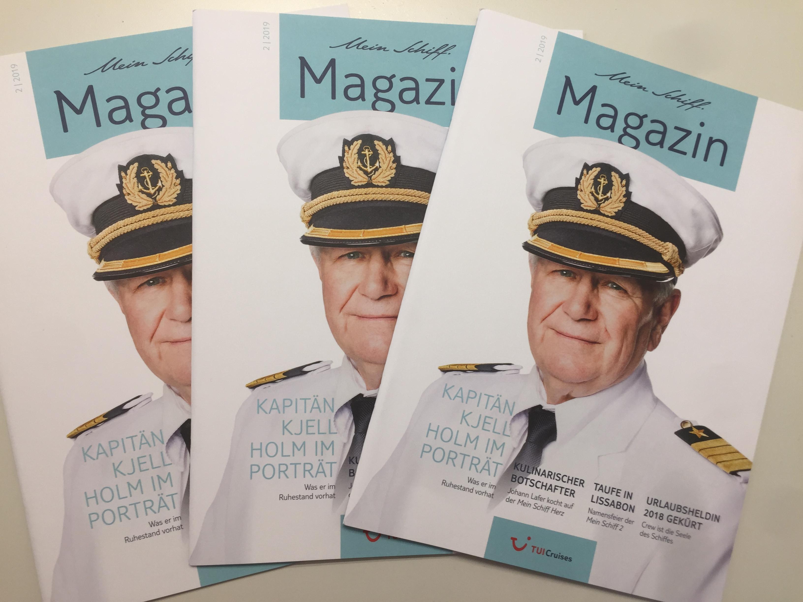 Das neue Mein Schiff Magazin 2/2019